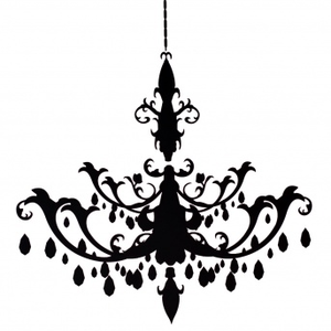 Resize Chandelier Decal.