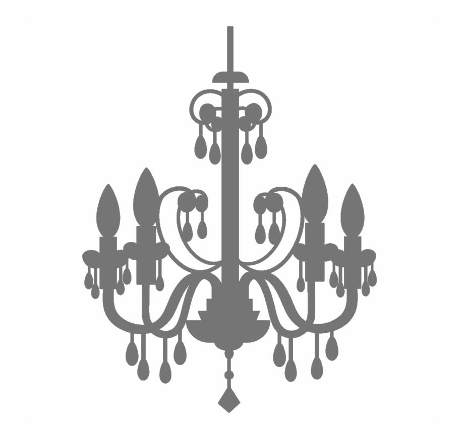 Chandelier Vector Abstract.