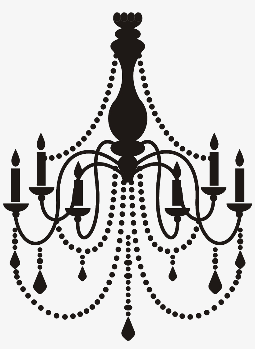 19 Best Chandelier Decal Images.