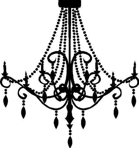 Chandelier Clipart Clipart Kid for Chandelier Clip Art.