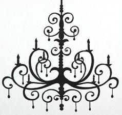 Free Chandelier Clipart.
