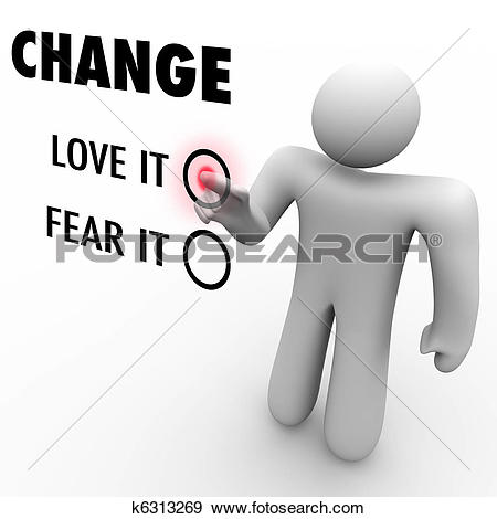 Stock Illustration of Change.