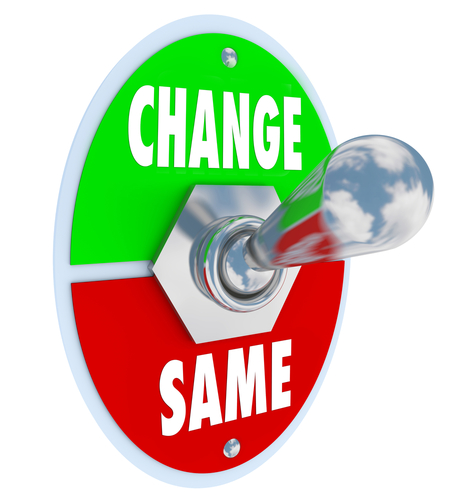 Change In Business Clipart.