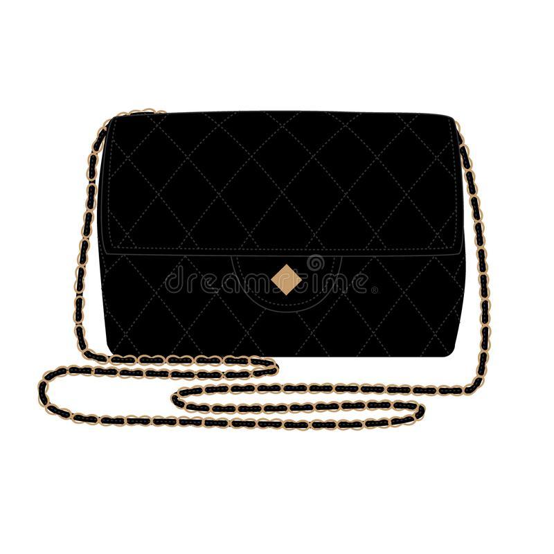 Chanel Bag Stock Illustrations.