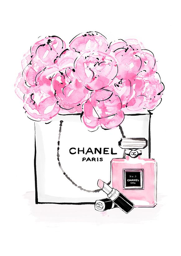 Chanel tumblr clipart.