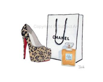 Chanel bag clipart.