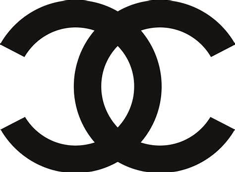 Chanel logo Clip Art Transparent Background.