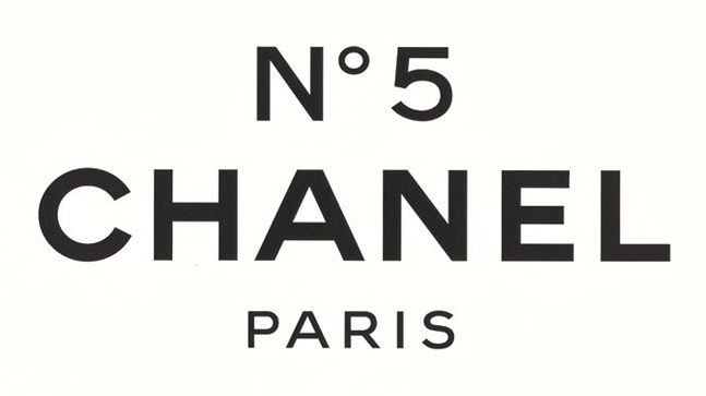 Chanel No. 5 Perfume Logo.