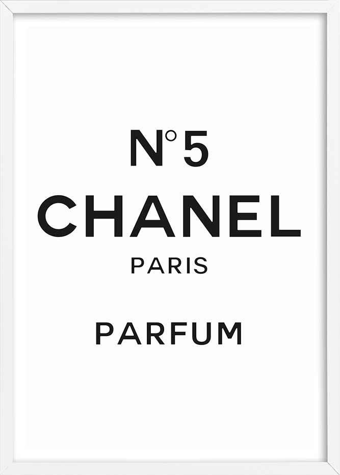 Chanel No5 White.