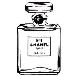 Chanel perfume clipart 4 in 2019.