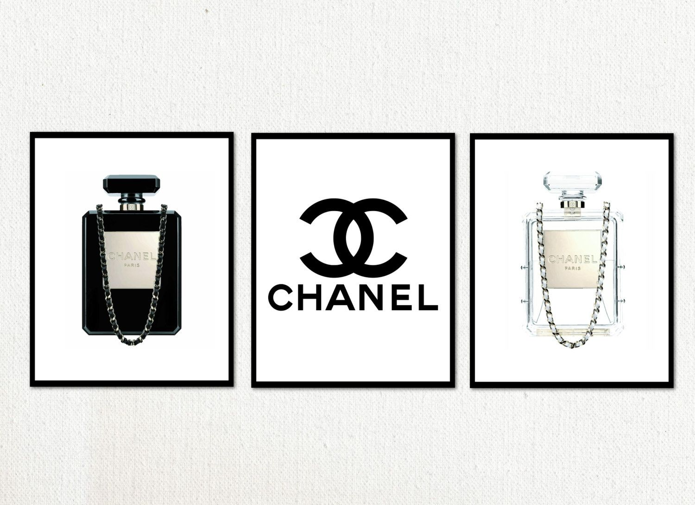 Coco Chanel Perfume Logo.