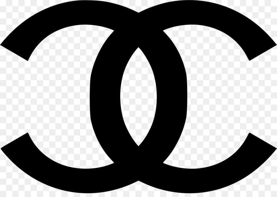 Black and White Chanel Logo.