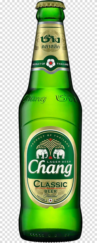 Chang Beer Lager Singha Cobra Beer, Chang Beer transparent.