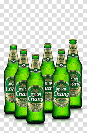 Chang Beer transparent background PNG cliparts free download.