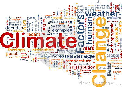 Climate Change Background Royalty Free Stock Photo.