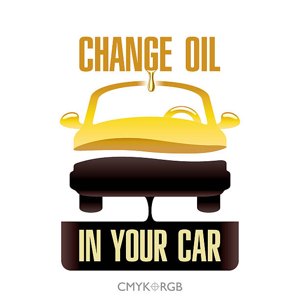 Best Oil Change Illustrations, Royalty.