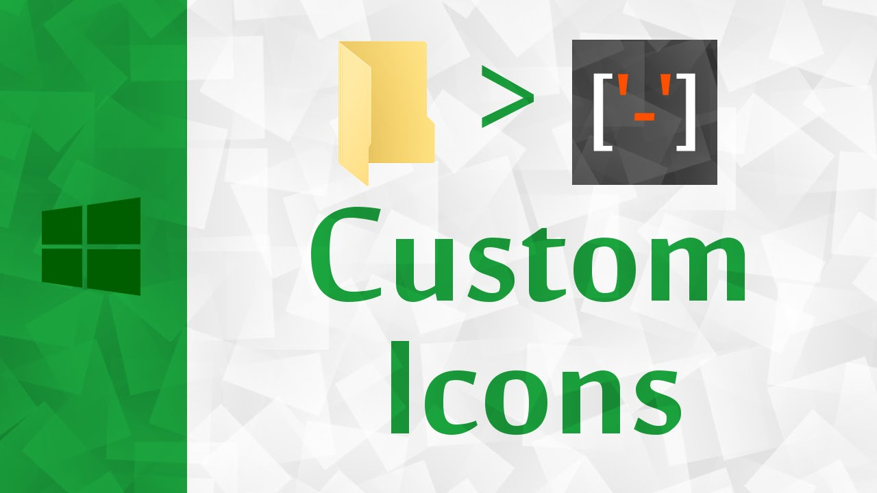 [Windows] How to Change Folder Icon to Custom Icon on Windows 10.