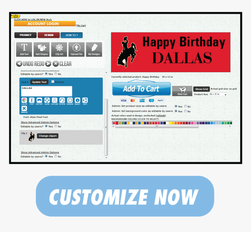 Transparent Birthday Banner Clipart.