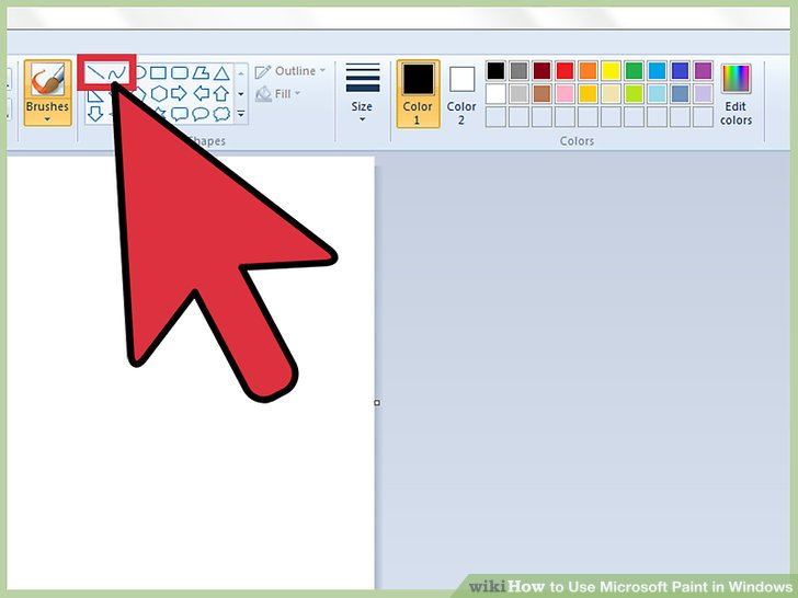 How to Use Microsoft Paint in Windows (with Pictures).