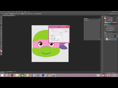 How to change a color in your clip art using Photoshop.