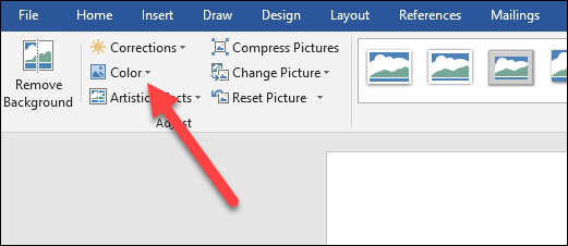 How to Change a Picture to Black and White in Microsoft Word.