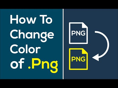 How to Change Color of png in Illustrator.