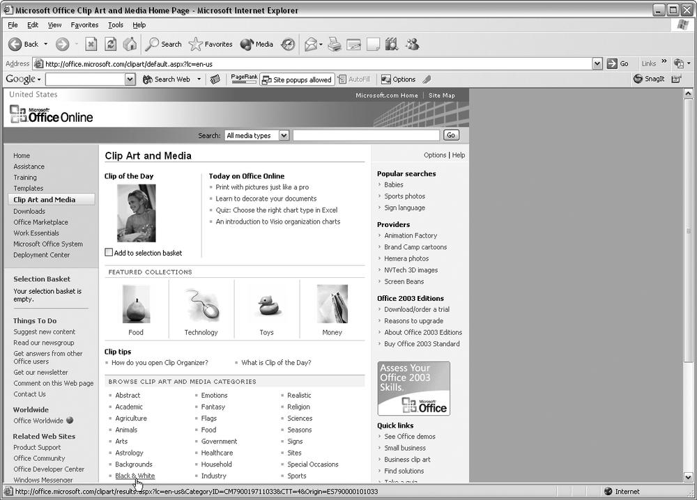 Windows 7 change desktop clipart size.
