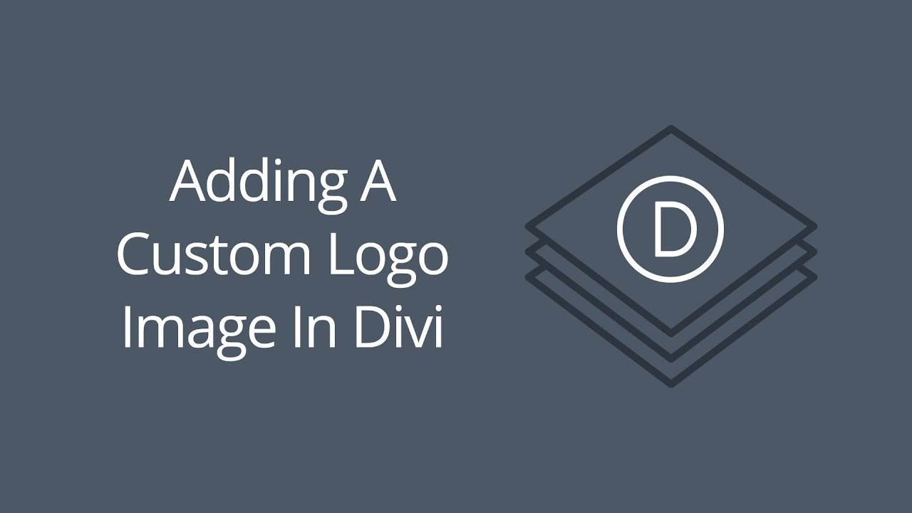 Adding A Custom Logo Image In Divi.