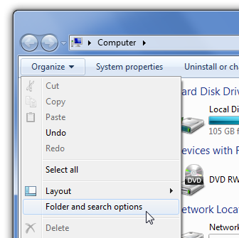 How To Change Folder Clipart Windows 7.
