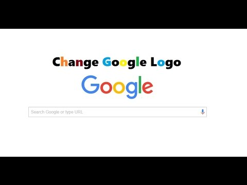 How To Change Google Logo Into Your Name.