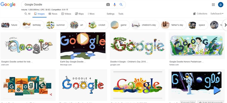 How to Change the Boring Google Logo to Your Name.