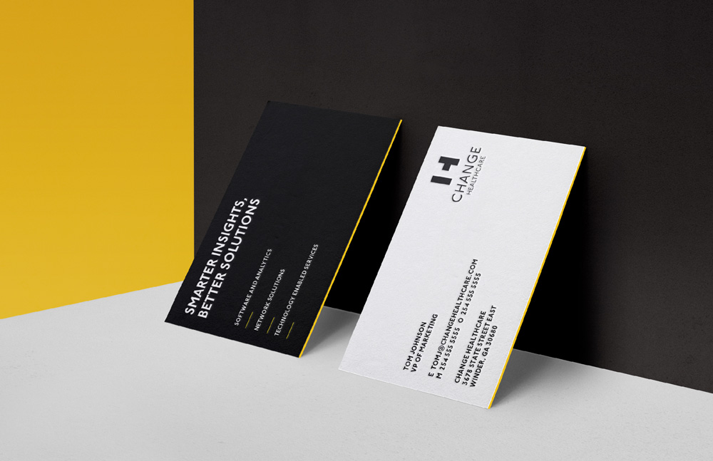 Brand New: New Logo and Identity for Change Healthcare by.