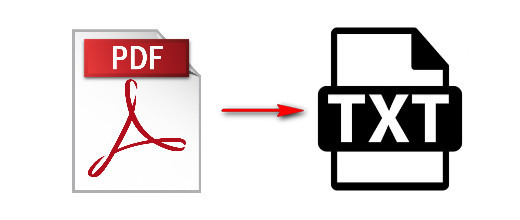 Convert PDF to TXT Files.