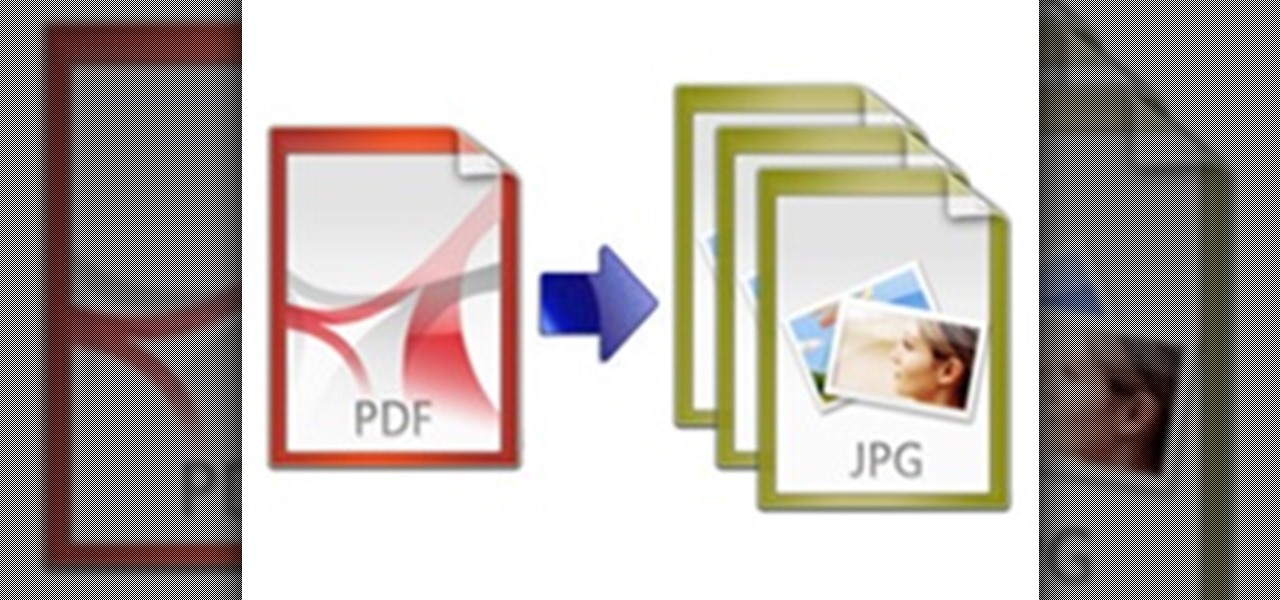 How to Convert PDF Documents to JPG Images Online for Free.