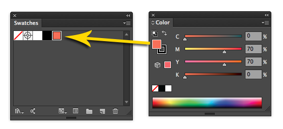 10 Essential Tips for Working With Color Swatches in Illustrator.