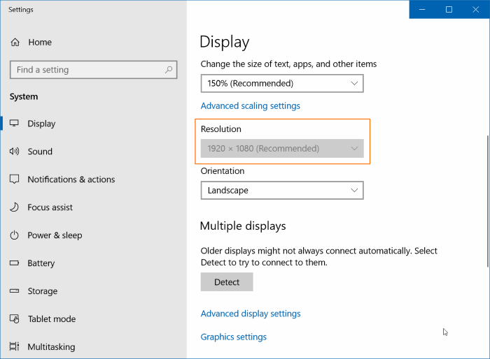 Fix: Cannot Change Screen Resolution In Windows 10.