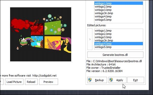 How To Easily Change Windows 8 Or 8.1 Boot Logo.