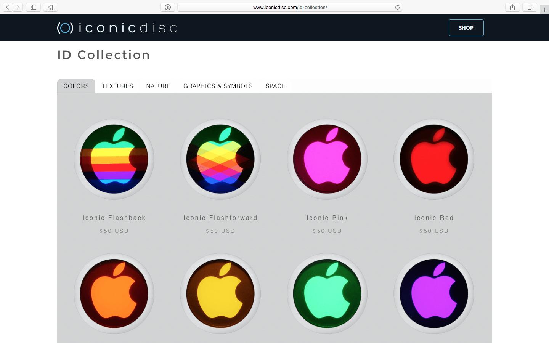 Changer la pomme du MacBook sur le capot.