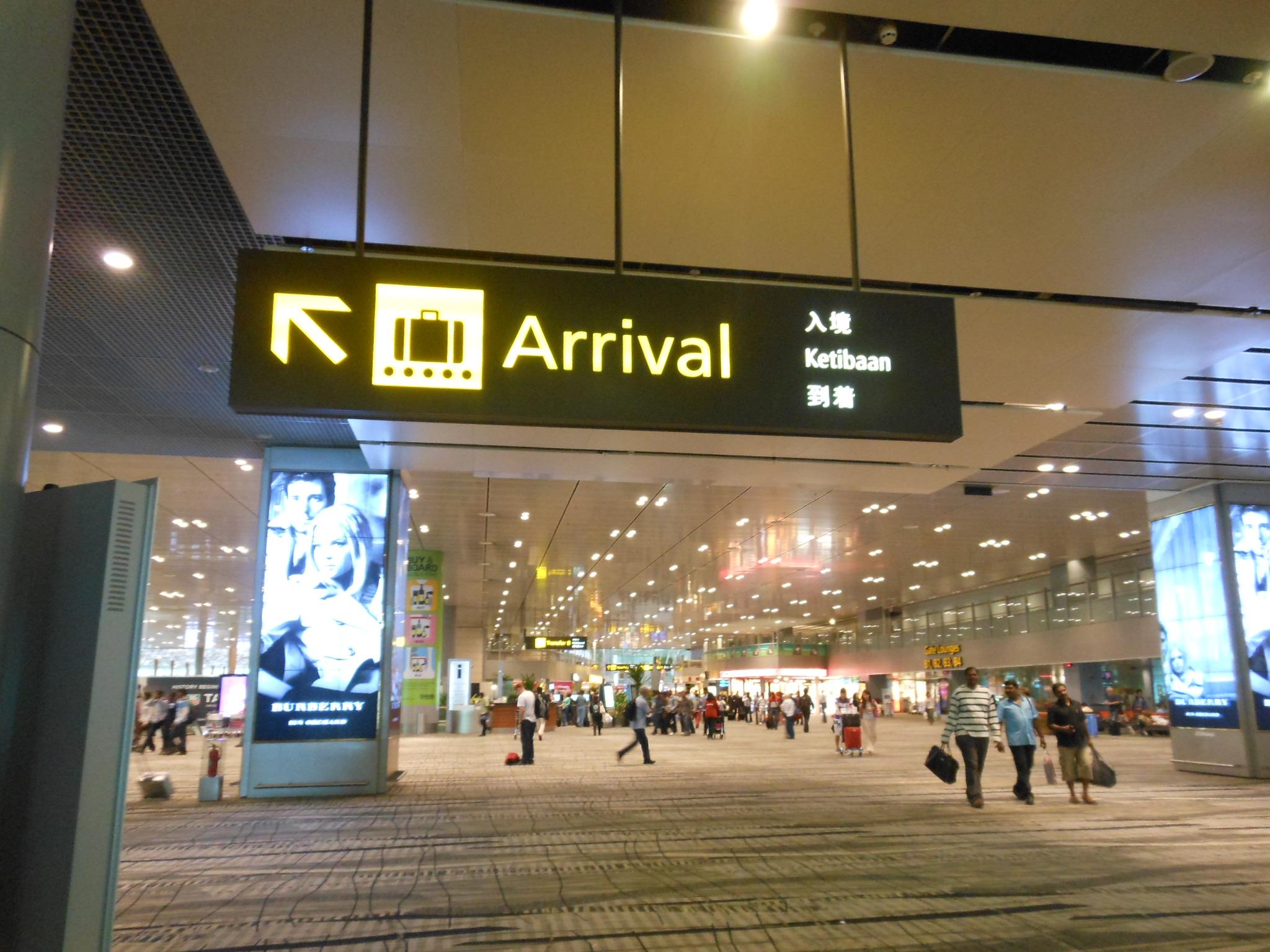 Lovely Singapore Terminal.
