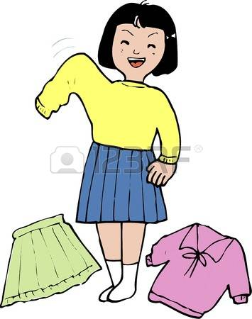 changing clothes clipart - Clipground