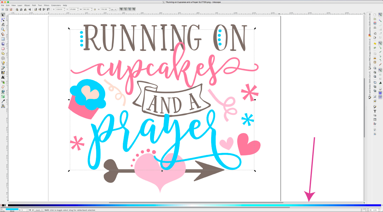 Craft Like A Pro: Using Inkscape To Change The Design Colors (And.