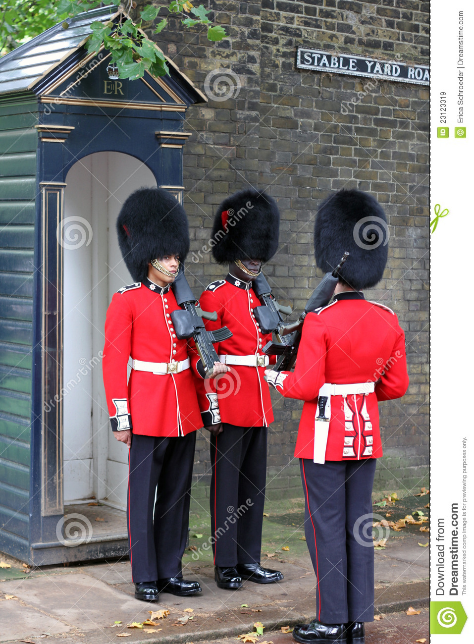 Changing Of The Guard In London England Editorial Stock Image.