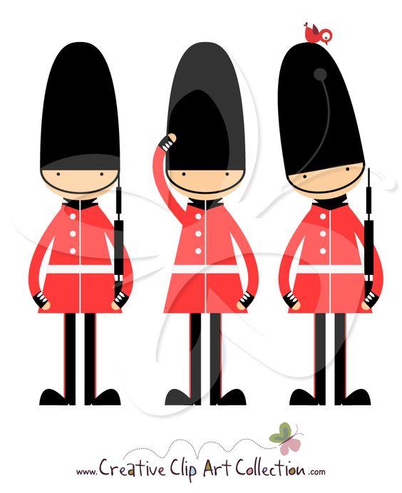 Queens guard clipart.