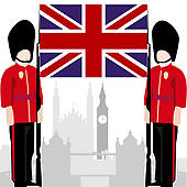 England palace guard.