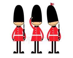 London guards.