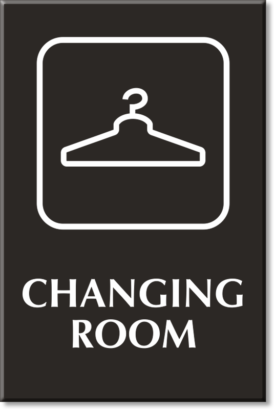 21 Sign Clipart changing room Free Clip Art stock.