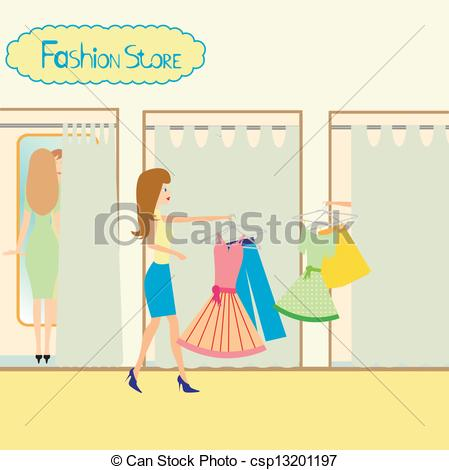 Fitting Room Clipart.