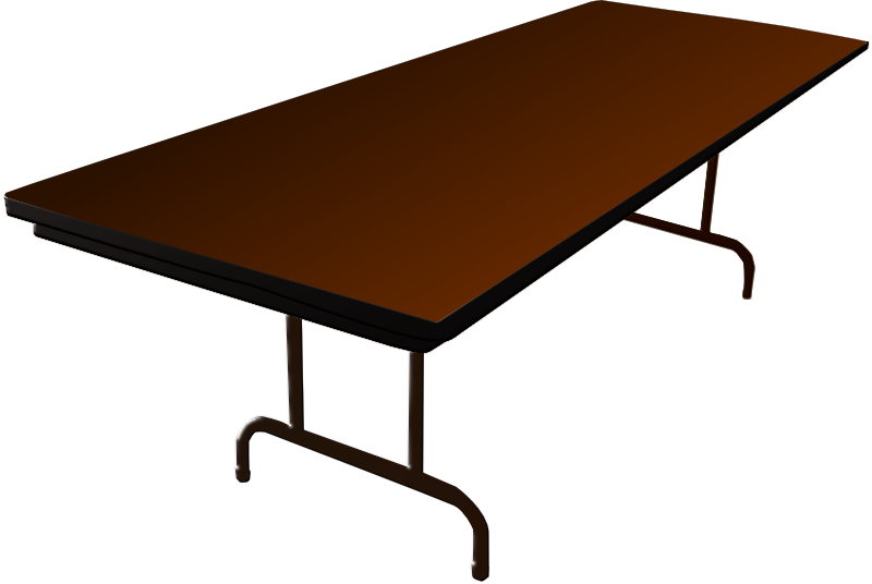 Brown Table Clipart Clipground