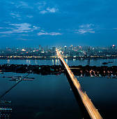 "Picture of ""City skyline and highway, Changsha, Hunan, China."