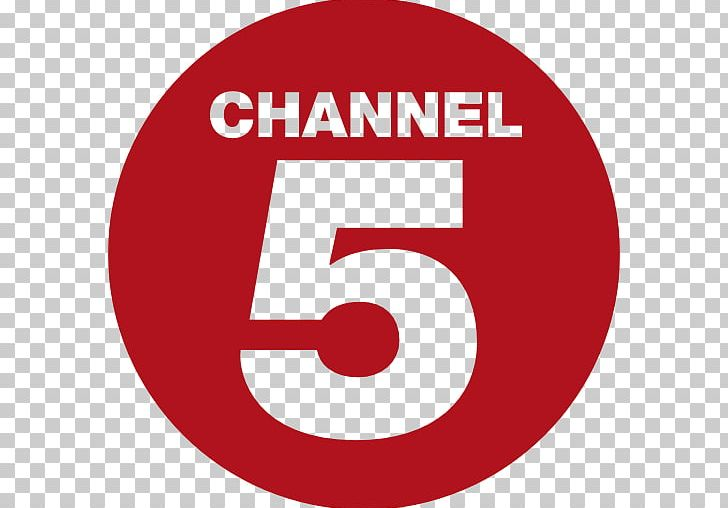 Channel 5 Television Channel United Kingdom Logo PNG.